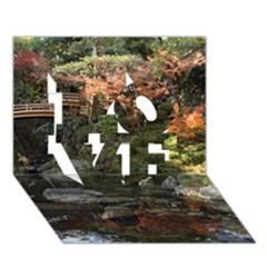 Wakayama Garden Love 3d Greeting Card (7x5)