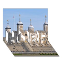 Tower Of London 2 Hope 3d Greeting Card (7x5)