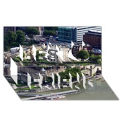 Tower Of London 1 Best Friends 3d Greeting Card (8x4)