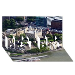 TOWER OF LONDON 1 BEST BRO 3D Greeting Card (8x4)  by trendistuff