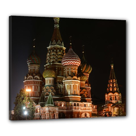 St Basil s Cathedral Canvas 24  X 20  by trendistuff