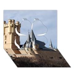 SEGOVIA CASTLE Clover 3D Greeting Card (7x5)  by trendistuff