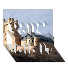 Segovia Castle You Did It 3d Greeting Card (7x5) by trendistuff