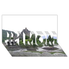 Scotland Eilean Donan #1 Mom 3d Greeting Cards (8x4)  by trendistuff