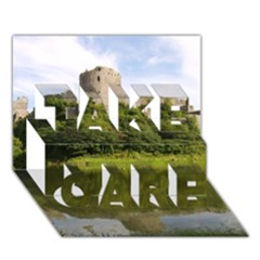 Pembroke Castle Take Care 3d Greeting Card (7x5)