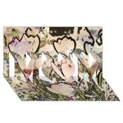 Art Studio 7216 Mom 3d Greeting Card (8x4)  by MoreColorsinLife