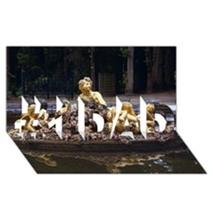 Palace Of Versailles 3 #1 Dad 3d Greeting Card (8x4)  by trendistuff
