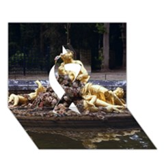 Palace Of Versailles 3 Ribbon 3d Greeting Card (7x5)  by trendistuff