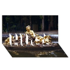Palace Of Versailles 3 Hugs 3d Greeting Card (8x4)  by trendistuff