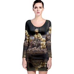 Palace Of Versailles 3 Long Sleeve Bodycon Dresses by trendistuff