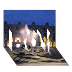 Palace Of Versailles 2 Boy 3d Greeting Card (7x5) by trendistuff