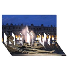Palace Of Versailles 2 Believe 3d Greeting Card (8x4)  by trendistuff