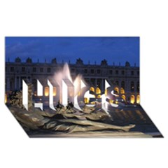 Palace Of Versailles 2 Hugs 3d Greeting Card (8x4)