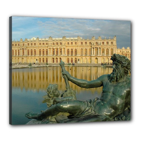 Palace Of Versailles 1 Canvas 24  X 20  by trendistuff