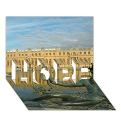 Palace Of Versailles 1 Hope 3d Greeting Card (7x5)  by trendistuff