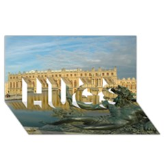 Palace Of Versailles 1 Hugs 3d Greeting Card (8x4)  by trendistuff
