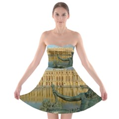 Palace Of Versailles 1 Strapless Bra Top Dress by trendistuff