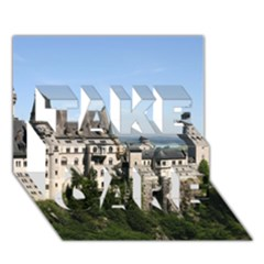 Neuschwanstein Castle 2 Take Care 3d Greeting Card (7x5)