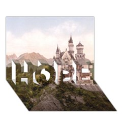 Neuschwanstein Castle Hope 3d Greeting Card (7x5)