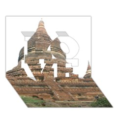 Mingalazedi Love 3d Greeting Card (7x5)  by trendistuff