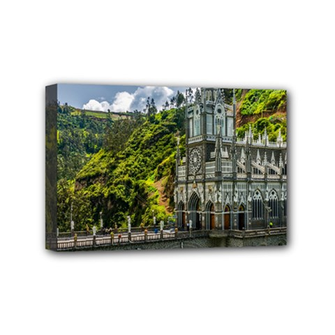 Las Lajas Sanctuary 1 Mini Canvas 6  X 4  by trendistuff