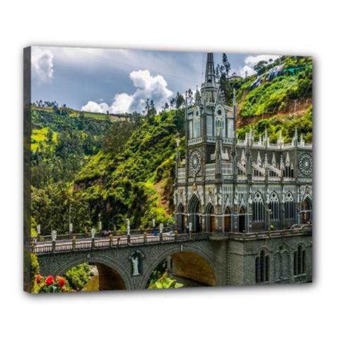 Las Lajas Sanctuary 1 Canvas 20  X 16  by trendistuff