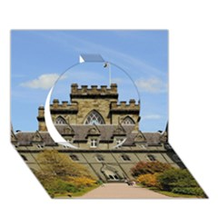 INVERARAY CASTLE Circle 3D Greeting Card (7x5)  by trendistuff