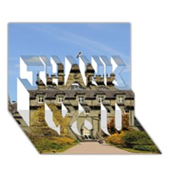 Inveraray Castle Thank You 3d Greeting Card (7x5)