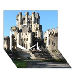 Butron Castle I Love You 3d Greeting Card (7x5)