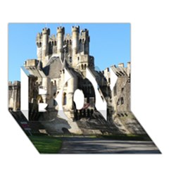 Butron Castle Boy 3d Greeting Card (7x5)