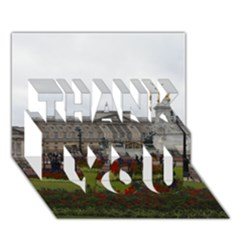 Buckingham Palace Thank You 3d Greeting Card (7x5)