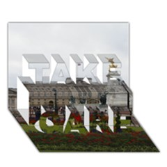 Buckingham Palace Take Care 3d Greeting Card (7x5)