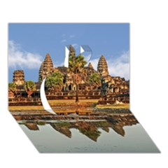 Angkor Wat Apple 3d Greeting Card (7x5)  by trendistuff
