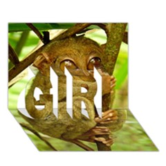 Tarsier Girl 3d Greeting Card (7x5)  by trendistuff