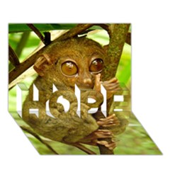 Tarsier Hope 3d Greeting Card (7x5)  by trendistuff