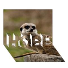 Meerkat Hope 3d Greeting Card (7x5)  by trendistuff