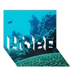 Coral Reefs 2 Hope 3d Greeting Card (7x5)  by trendistuff