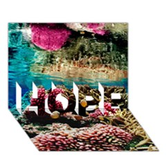 Coral Reefs 1 Hope 3d Greeting Card (7x5)