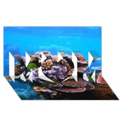 Coral Outcrop 2 Mom 3d Greeting Card (8x4)