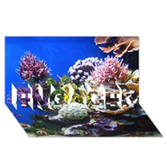 Coral Outcrop 1 Engaged 3d Greeting Card (8x4)  by trendistuff