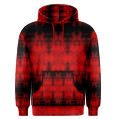 Red Black Gothic Pattern Men s Pullover Hoodies