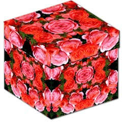 Beautiful Red Roses Storage Stool 12