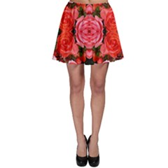 Beautiful Red Roses Skater Skirts by Costasonlineshop