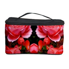 Beautiful Red Roses Cosmetic Storage Cases by Costasonlineshop