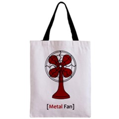 Metal Fan Classic Tote Bags by waywardmuse