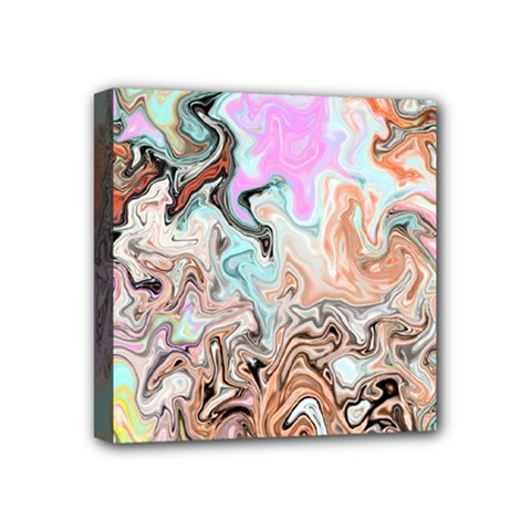 Distortedbeauty Mini Canvas 4  X 4  by theunrulyartist