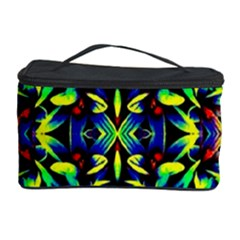 Cool Green Blue Yellow Design Cosmetic Storage Cases by Costasonlineshop