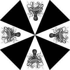 Vintage Octopus Folding Umbrellas