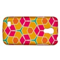 Shapes in retro colors patternSamsung Galaxy S4 Mini (GT-I9190) Hardshell Case View1