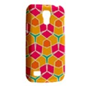Shapes in retro colors patternSamsung Galaxy S4 Mini (GT-I9190) Hardshell Case View2